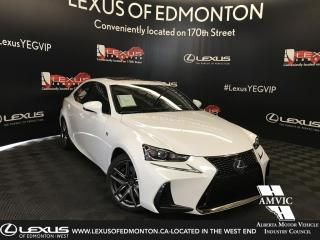 New 2019 Lexus IS 300 F SPORT SERIES 2 for sale in Edmonton, AB