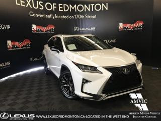 Used 2017 Lexus RX 350 F-Sport Series 2 for sale in Edmonton, AB