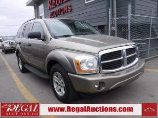 Used 2004 Dodge Durango 4D Utility 4WD for sale in Calgary, AB