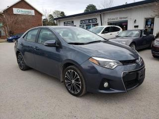 Used 2014 Toyota Corolla S CVT for sale in Waterdown, ON
