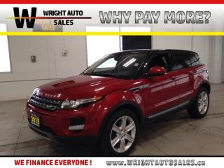 Used 2015 Land Rover Evoque Pure NAVIGATION MOON ROOF 4WD 82,723 KMS for sale in Cambridge, ON
