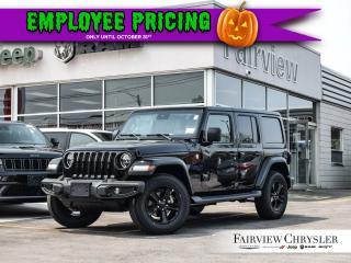 Used 2019 Jeep Wrangler Unlimited Sahara for sale in Burlington, ON