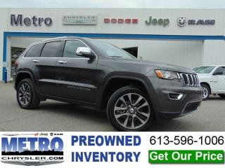 Used 2018 Jeep Grand Cherokee Limited for sale in Ottawa, ON