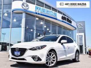 Used 2016 Mazda MAZDA3 Sport GT, ONE OWNER, 1.9% FINANCE AVAILALBE for sale in Mississauga, ON