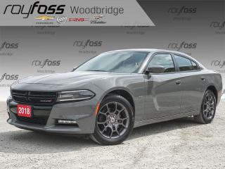 Used 2018 Dodge Charger GT AWD, HEATED SEATS, PERFORMANCE PAGES, ALPINE for sale in Woodbridge, ON