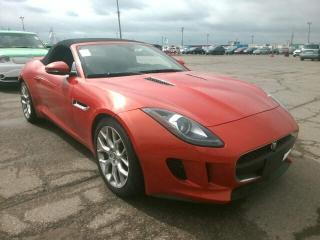 Used 2014 Jaguar F-Type S Convertible New Tires and Brakes for sale in St. George Brant, ON
