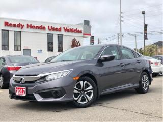 Used 2017 Honda Civic Sedan LX - Rear Camera - Honda Sensing for sale in Mississauga, ON
