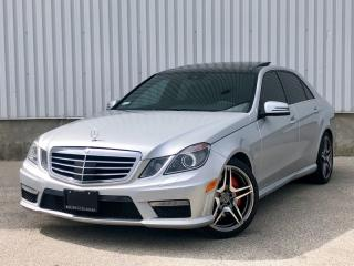 Used 2012 Mercedes-Benz E-Class E63 Bi Turbo|Performance Pkg|FINANCING AVAILABLE for sale in Mississauga, ON