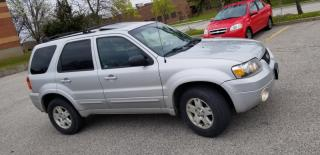 Used 2007 Ford Escape 4WD 4dr Auto Limited for sale in Mississauga, ON