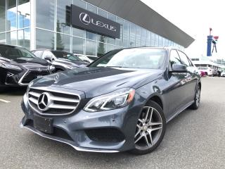 Used 2015 Mercedes-Benz E-Class E400 4matic Sedan NO Accidents, Local, 1 Owner for sale in North Vancouver, BC