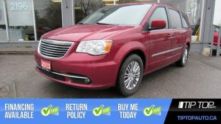 Used 2013 Chrysler Town & Country Touring W/Leather ** LOADED, Nav, Sunroof ** for sale in Bowmanville, ON