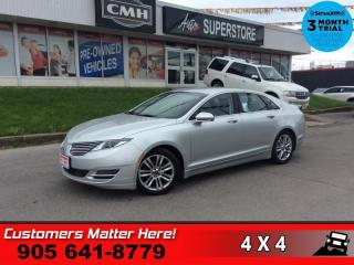 Used 2015 Lincoln MKZ Reserve  V6 AWD RESERVE CS NAV CAM 4X-HS for sale in St. Catharines, ON