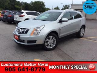 Used 2014 Cadillac SRX Luxury  AWD NAV CUE PANO-ROOF LD BS CW BOSE for sale in St. Catharines, ON