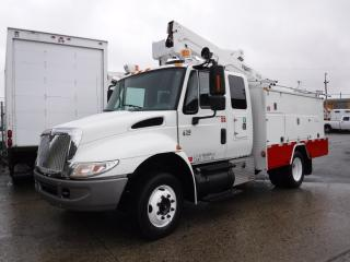 Used 2007 International 4200 Bucket Truck with Service Box Diesel for sale in Burnaby, BC