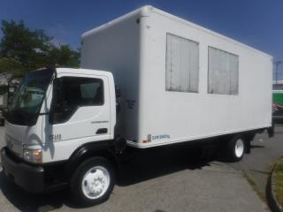 Used 2007 International CF600 20 Foot Cube Van Diesel with Power Liftgate 3 passenger for sale in Burnaby, BC