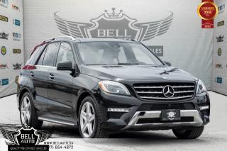Used 2015 Mercedes-Benz ML-Class ML 350 BlueTEC, BACK-UP CAM, BLUETOOTH, NAVI, PANO ROOF, MEMORY SEAT for sale in Toronto, ON