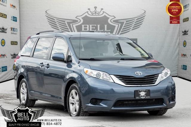 2014 Toyota Sienna LE, 8 PASS, BACK-UP CAM, BLUETOOTH, A/C, HEATED SEAT, USB