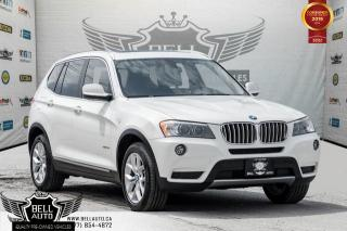 Used 2014 BMW X3 xDrive28i, BACK-UP CAM, PANO ROOF, PUSH START, A/C, MEMORY SEAT for sale in Toronto, ON