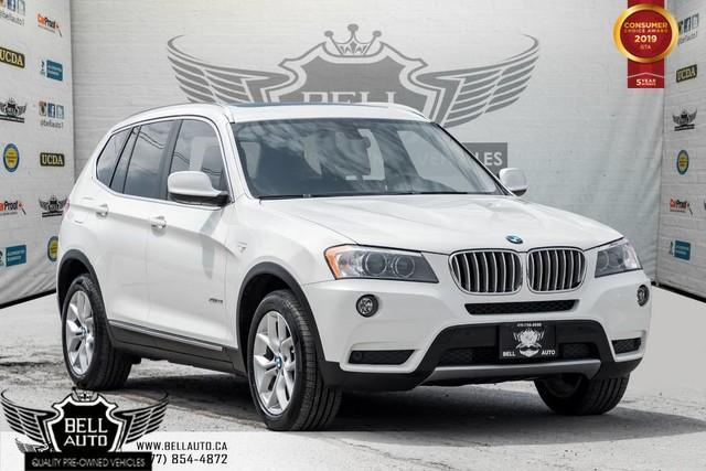 2014 BMW X3 xDrive28i, BACK-UP CAM, PANO ROOF, PUSH START, A/C, MEMORY SEAT
