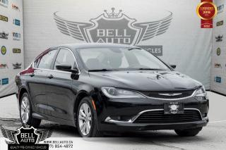 Used 2015 Chrysler 200 Limited, PUSH START, A/C, BLUETOOTH, MEMORY SEAT, VOICE CMND for sale in Toronto, ON