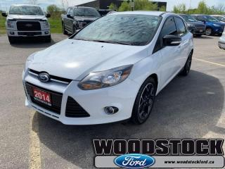 Used 2014 Ford Focus SE  - One owner - Local - Trade-in for sale in Woodstock, ON