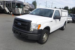 Used 2013 Ford F-150 XL 8-ft. Bed 4WD Long Box with Canopy for sale in Burnaby, BC