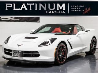 Used 2017 Chevrolet Corvette Stingray Z51 PERFORMANCE, 3LT, NAVI, RED Lthr for sale in Toronto, ON