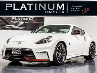 Used 2018 Nissan 370Z NISMO, 6-SPEED, NAVI, CAM, RECARO, Bose for sale in Toronto, ON