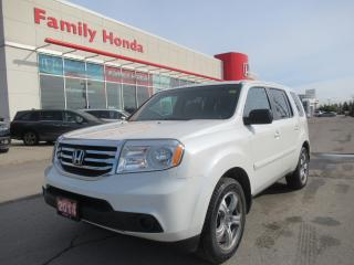 Used 2014 Honda Pilot LX for sale in Brampton, ON