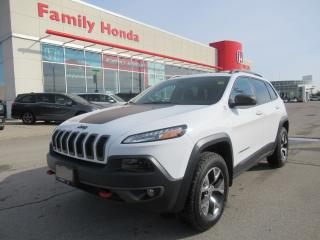 Used 2017 Jeep Cherokee Trailhawk for sale in Brampton, ON