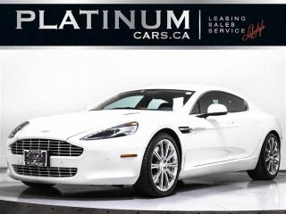 Used 2011 Aston Martin Rapide LUXURY, V12, NAVI, CAM, Heated Cooled F/R Seats for sale in Toronto, ON