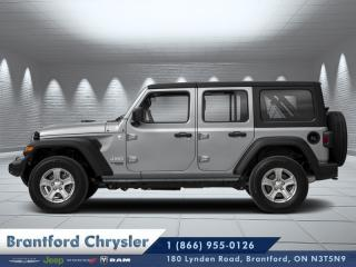 Used 2019 Jeep Wrangler Unlimited Sahara  - Navigation - $323 B/W for sale in Brantford, ON