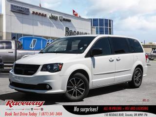 Used 2017 Dodge Grand Caravan SE/SXT - DVD, Full Stow n Go, Rear Climate, BT for sale in Etobicoke, ON
