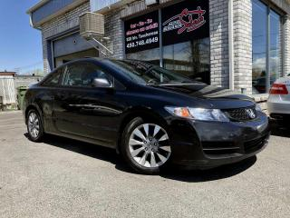 Used 2010 Honda Civic 2 portes, boîte manuelle, EX-L for sale in Longueuil, QC