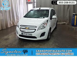Used 2016 Chevrolet Spark EV **LT** ÉLECTRIQUE** FULL ÉQUIPÉ** RABAIS for sale in Rivière-Du-Loup, QC
