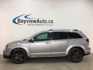 Used 2018 Dodge Journey Crossroad - 7 PASS! DVD! SUNROOF! NAV! 1/2 LEATHER! LOW KMS! for sale in Belleville, ON