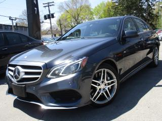 Used 2014 Mercedes-Benz E-Class E550 4MATIC~V8~NAVI~PANO ROOF~138,000KM !!! for sale in Burlington, ON