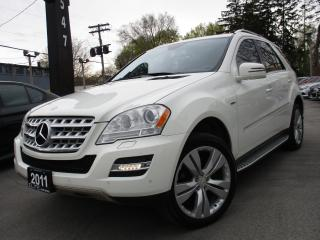 Used 2011 Mercedes-Benz ML-Class ML350 BLUETEC~DIESEL~NAVI~LEATHER~SUNROOF !!! for sale in Burlington, ON