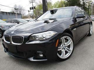 Used 2015 BMW 5 Series 535I XDRIVE~M-SPORT PKG~ONE OWNER~80KMS !! for sale in Burlington, ON