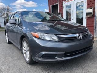 Used 2012 Honda Civic EX 4 portes, boîte automatique for sale in Drummondville, QC
