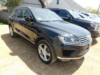 Used 2016 Volkswagen Touareg VR6 Lux for sale in Listowel, ON