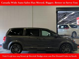 Used 2019 Dodge Grand Caravan GT, Leather, Heated Seats, Back Up Camera, Power Sliding Doors, Remote Start for sale in Edmonton, AB