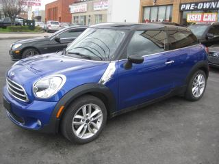 Used 2013 MINI Cooper Paceman Cooper/Navigation/Sunroof/Comfort access for sale in North York, ON
