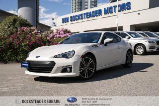 Used 2016 Subaru BRZ Sport-Tech 6sp CERTIFIED PRE-OWNED | NAVIGATION | HEATED SEATS | BLUETOOTH | REAR CAMERA for sale in Vancouver, BC