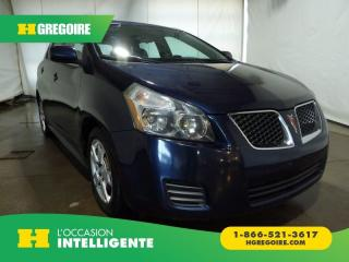 Used 2009 Pontiac Vibe A/C for sale in St-Léonard, QC