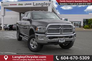 Used 2017 RAM 2500 Laramie *POWER WAGON* *BENCH SEAT* *REMOTE START* for sale in Surrey, BC