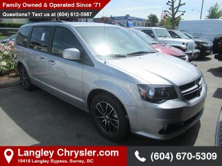 Used 2018 Dodge Grand Caravan *GT PACKAGE* *DVD* *LOADED* for sale in Surrey, BC