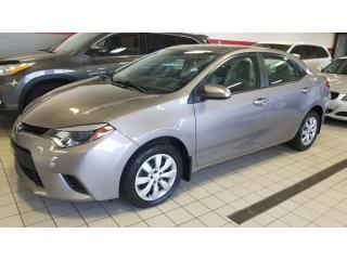 Used 2014 Toyota Corolla LE/AUT/AIR/SIEGE CHAUFFANT for sale in Terrebonne, QC