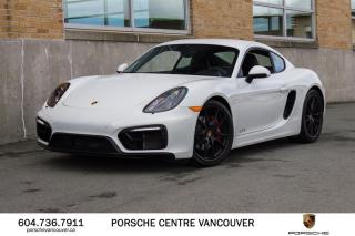 Used 2016 Porsche Cayman GTS PDK | PORSCHE CERTIFIED for sale in Vancouver, BC