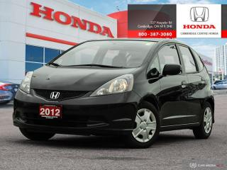 Used 2012 Honda Fit DX-A for sale in Cambridge, ON